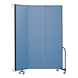 8\' H Wall-Mount Partition - Three Panels