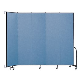 8\' H Wall-Mount Partition - Five Panels