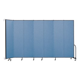 8\' H Wall-Mount Partition - Seven Panels