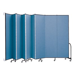 8\' H Wall-Mount Partition - Shown w/ Nine Panels