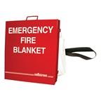 Emergency Fiberglass Blanket w/ Cabinet