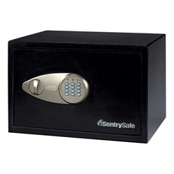 Security Safe w/ Electronic Lock (.5 Cubic Ft.) - Closed