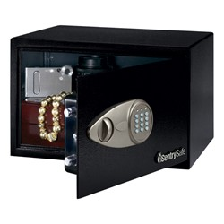 Security Safe w/ Electronic Lock (.5 Cubic Ft.) - Open