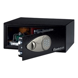 Security Safe w/ Electronic Lock (.7 Cubic Ft.) - Open