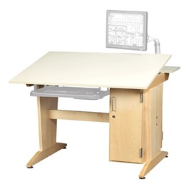Art & Drafting Verticle Tower Computer Table