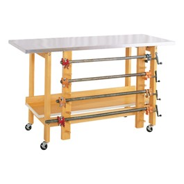 Mobile Glue & Stain Table