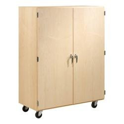 Mobile Shelf Storage Cabinet