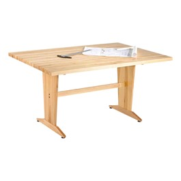 Extra-Large Maple Art Table