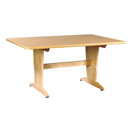 Extra-Large Art Table (Natural Birch Laminate)
