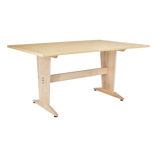 Extra-Large Art Table (Natural Birch Laminate)