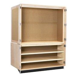 Woodworking Tool Storage Cabinet<br>Tote trays sold separately.