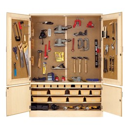 General Shop Storage Cabinet<BR>Tote trays sold separately.