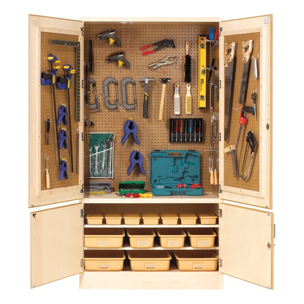 All-Purpose Tool Storage Cabinet - Totes not included