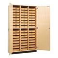 Tote Tray Storage Cabinet