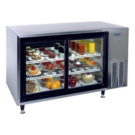 Refrigerated Display Case (Doors on One Side)