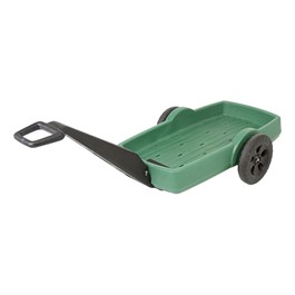 Easy Haul Flat Bed Cart - Green/Black