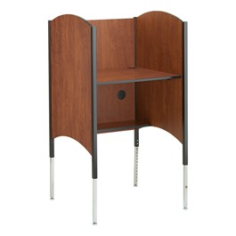Hi-Lo Adjustable Carrel