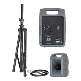 Voice Machine Portable PA System - Basic Wired Microphone Package