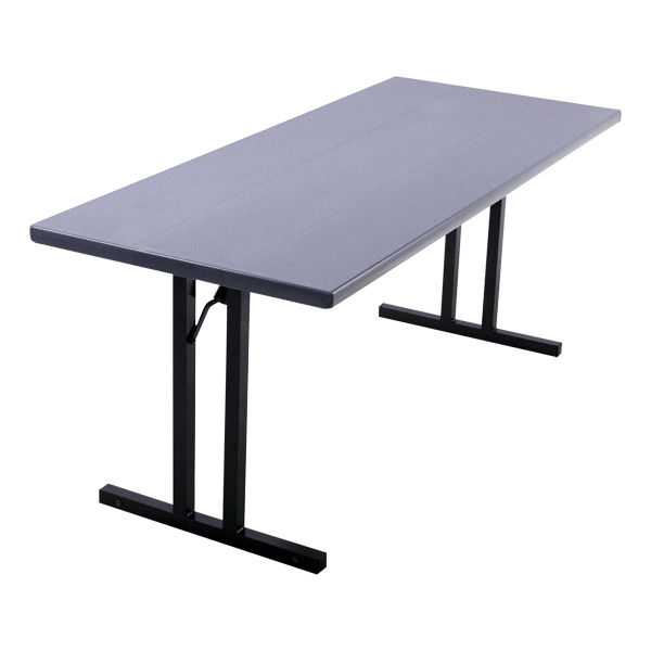 Alulite Aluminum Folding Table   Shown W/ Roman II Legs
