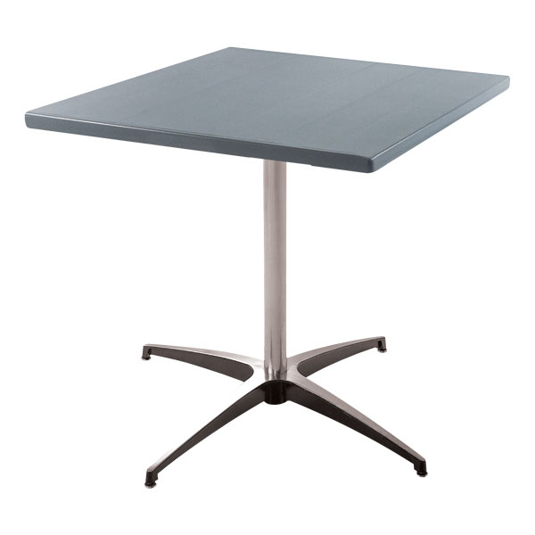 Square Aluminum Cafe Table