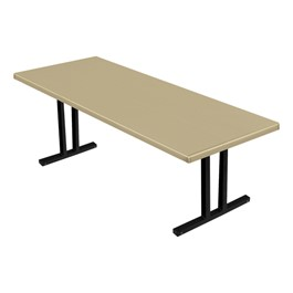 "Alulite Aluminum Folding Table (36"" W x 96\"" L)"
