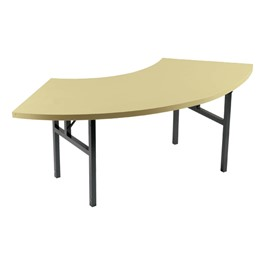 Alulite Radius Aluminum Folding Table