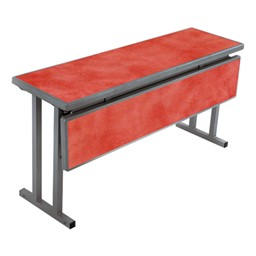 Two-In-One Banquet/Training Table - Shown w/ modesty panel flipped down