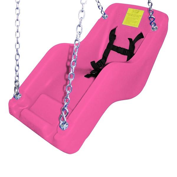 JennSwing® ADA Swing Seat - Bubble Gum Pink