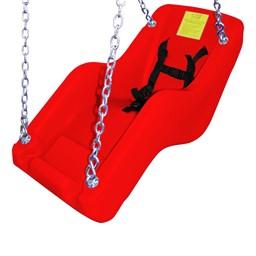 JennSwing® ADA Swing Seat - Fire Engine Red