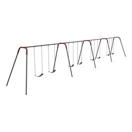 Modern Bipod Swing Set - Eight Seats (Four Bays)