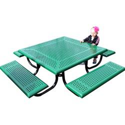 Square Preschool Picnic Table