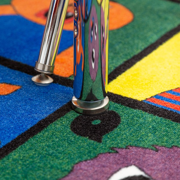 Horseshoe Adjustable-Height Preschool Table - Glide