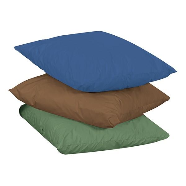Natural Reading Center - Cozy Woodland Floor Throw Pillows