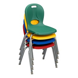 Structure Series Preschool Chair - Assorted Colors - Stacked