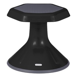 "Preschool Active Learning Stool (12"" Stool Height) - Black"