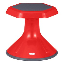"Preschool Active Learning Stool (12"" Stool Height) - Red"