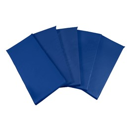 Blue Rest Mats - Set of Five