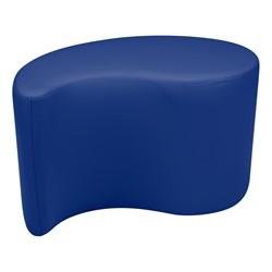"Shapes Vinyl Soft Seating - Teardrop (18"" H) - Blue"