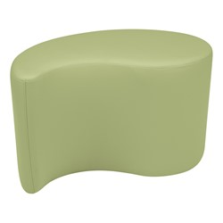 "Shapes Vinyl Soft Seating - Teardrop (18"" H) - Fern Green"