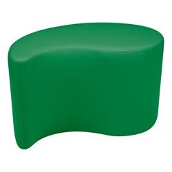 "Shapes Vinyl Soft Seating - Teardrop (18"" H) - Green"