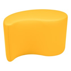 "Shapes Vinyl Soft Seating - Teardrop (18"" H) - Yellow"