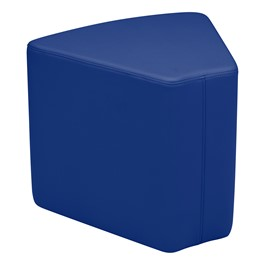 "Shapes Vinyl Soft Seating - Wedge (18"" H) - Blue"