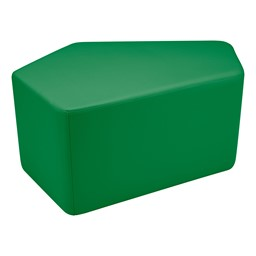"Shapes Vinyl Soft Seating - CommuniEDI (18"" H) - Green"