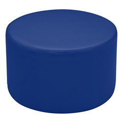 "Shapes Vinyl Soft Seating - Cylinder (12"" H) - Blue"
