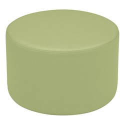 "Shapes Vinyl Soft Seating - Cylinder (12"" H) - Fern Green"