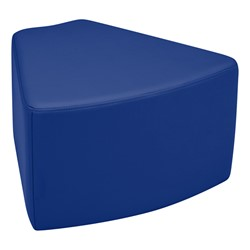 "Shapes Vinyl Soft Seating - Wedge (12"" H) - Blue"