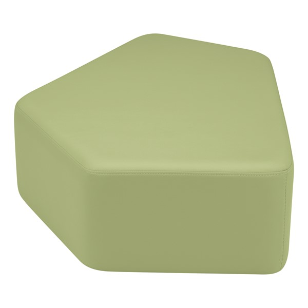 "Shapes Vinyl Soft Seating - CommuniEDI (18"" H) - Fern Green"