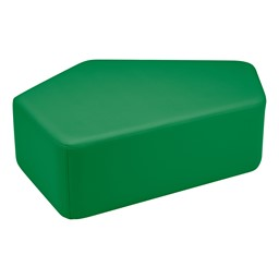 "Shapes Vinyl Soft Seating - CommuniEDI (12"" H) - Green"