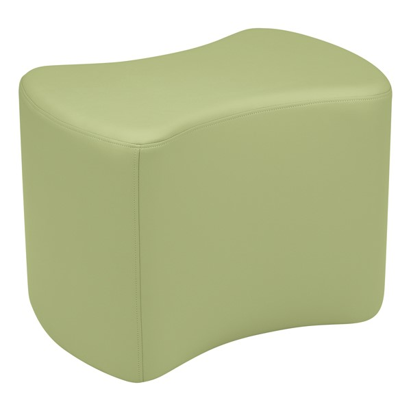 """Shapes Vinyl Soft Seating - Bow Tie (18"""" H) - Fern Green"""