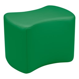"""Shapes Vinyl Soft Seating - Bow Tie (18"""" H) - Green"""